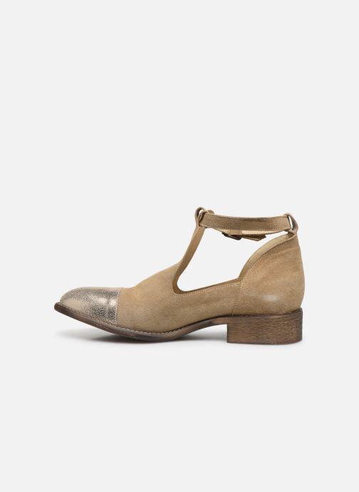 Boots en enkellaarsjes Yep Annouk Beige voorkant