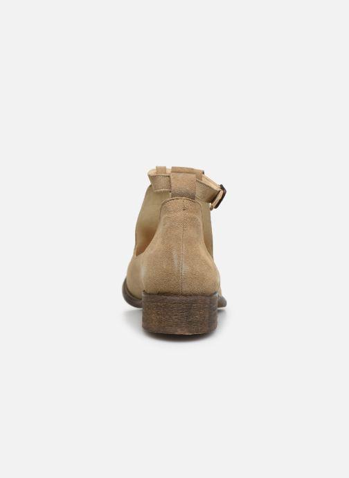 Boots en enkellaarsjes Yep Annouk Beige rechts