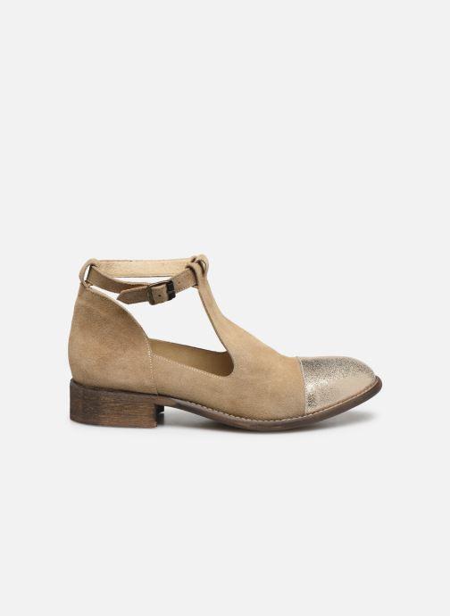 Boots en enkellaarsjes Yep Annouk Beige achterkant