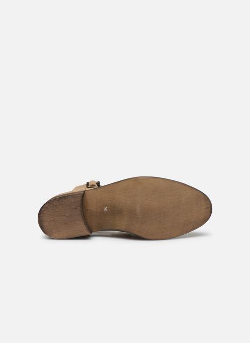 Boots en enkellaarsjes Yep Annouk Beige boven