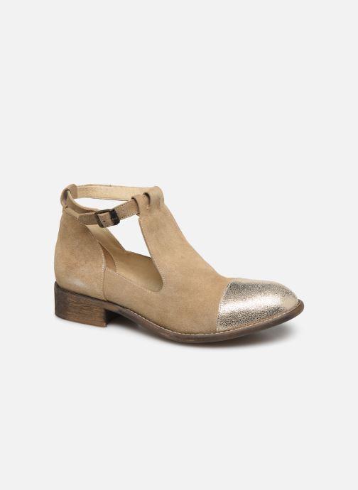 Boots en enkellaarsjes Yep Annouk Beige detail