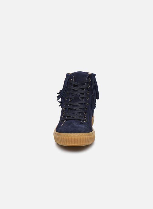 Baskets Yep Effie Bleu vue portées chaussures