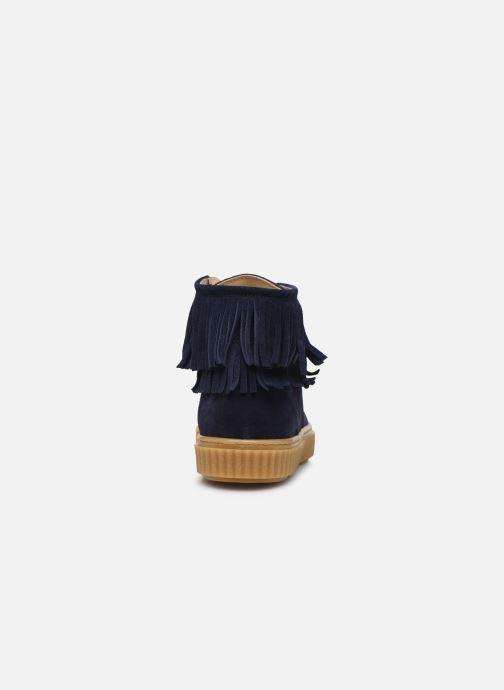 Baskets Yep Effie Bleu vue droite