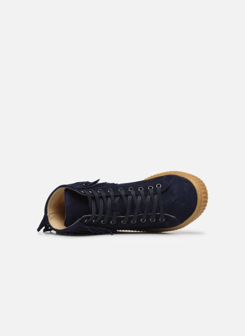 Sneaker Yep Effie blau ansicht von links