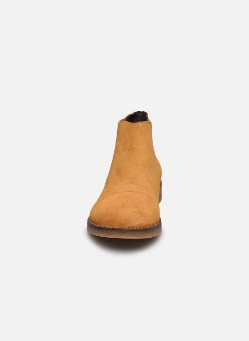 Bottines et boots Yep Filicia Marron vue portées chaussures
