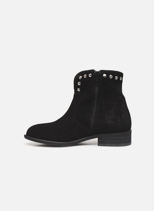 Bottines et boots Yep Florus Noir vue face