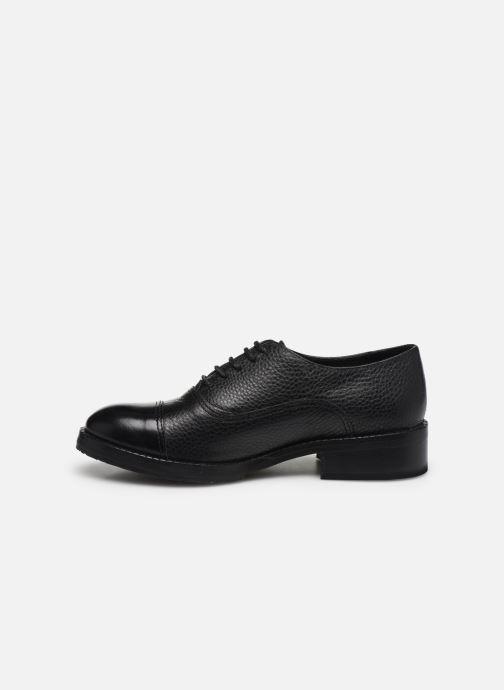 Zapatos con cordones Yep Gemma Negro vista de frente