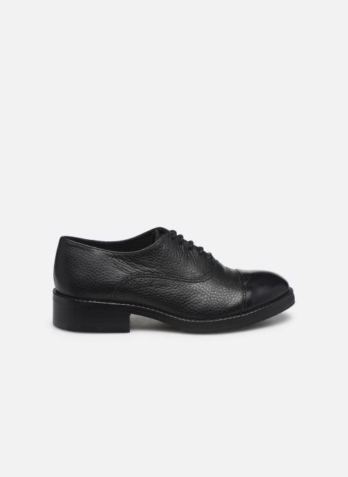 Chaussures à lacets Yep Gemma Noir vue derrière