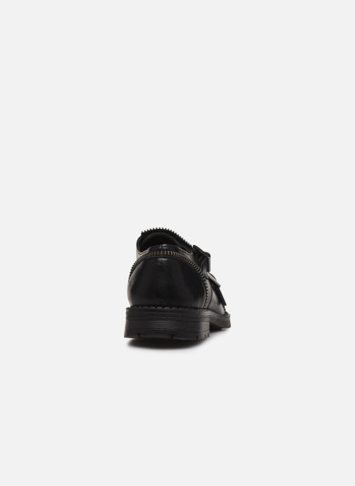 Zapatos con cordones Yep Heloise Negro vista lateral derecha