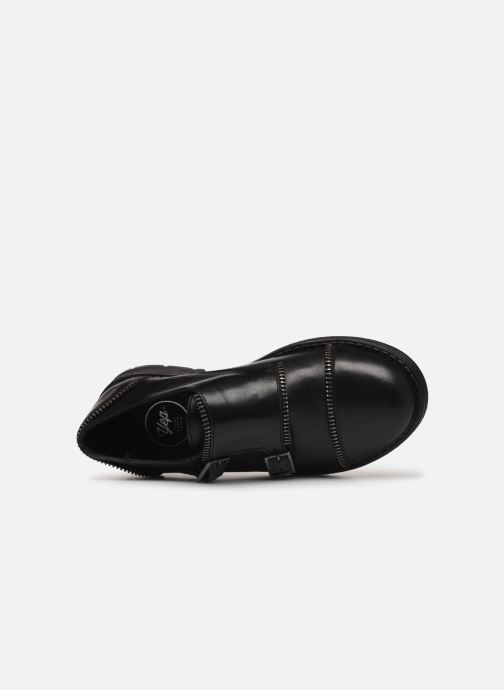 Chaussures à lacets Yep Heloise Noir vue gauche