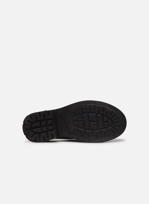 Chaussures à lacets Yep Heloise Noir vue haut