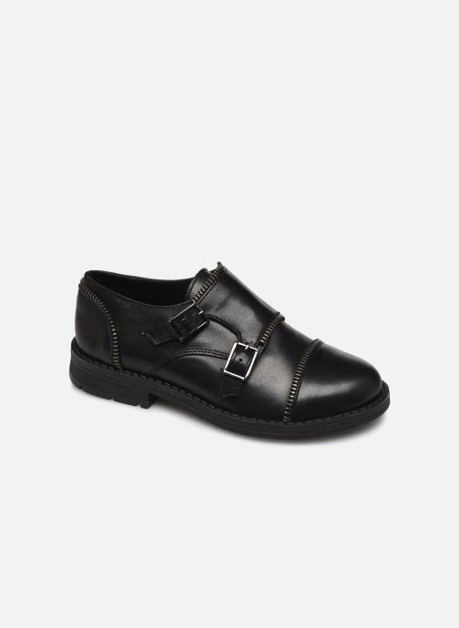 Zapatos con cordones Yep Heloise Negro vista de detalle / par