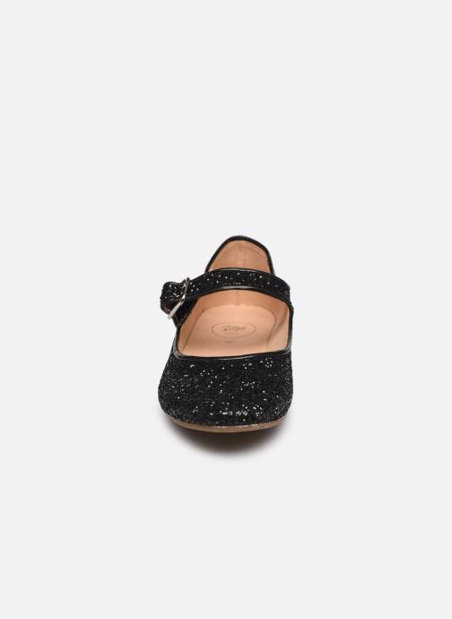 Ballerines Yep Lotty Noir vue portées chaussures