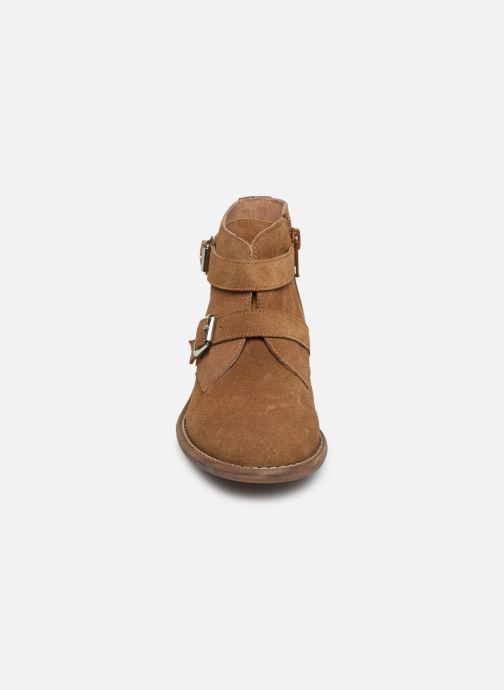 Bottines et boots Yep Maya(1363) Marron vue portées chaussures