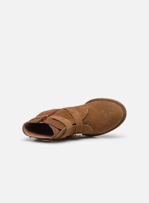 Bottines et boots Yep Maya(1363) Marron vue gauche