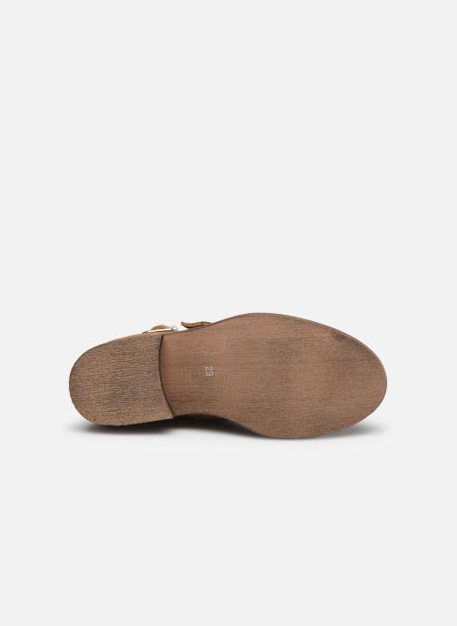 Bottines et boots Yep Maya(1363) Marron vue haut