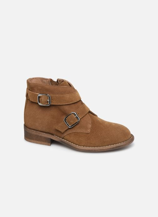 Bottines et boots Yep Maya(1363) Marron vue détail/paire