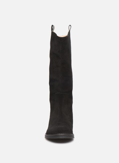 Bottes Yep Mirabella Noir vue portées chaussures
