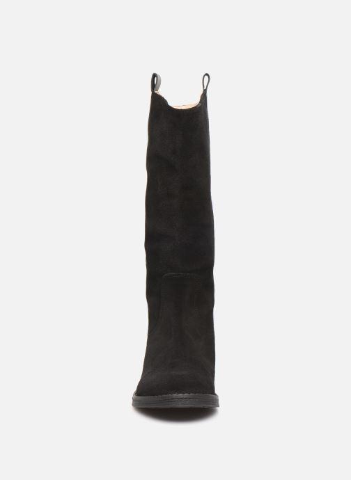 Stiefel Yep Mirabella schwarz schuhe getragen