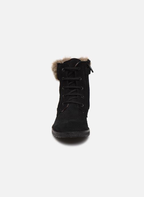 Bottines et boots Yep Pola Noir vue portées chaussures