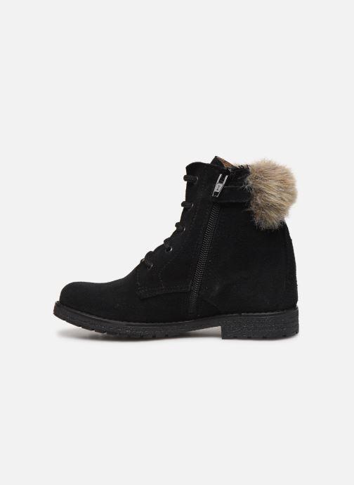 Bottines et boots Yep Pola Noir vue face