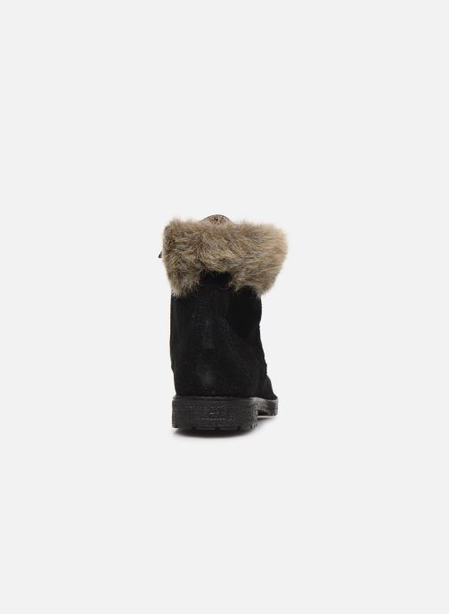 Bottines et boots Yep Pola Noir vue droite