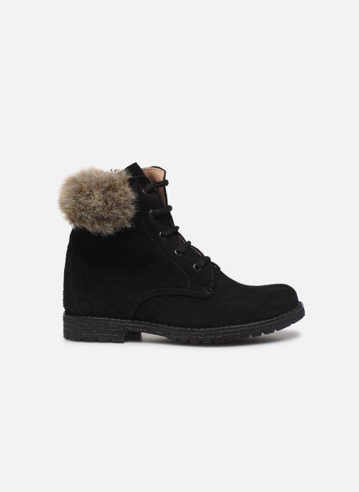 Bottines et boots Yep Pola Noir vue derrière