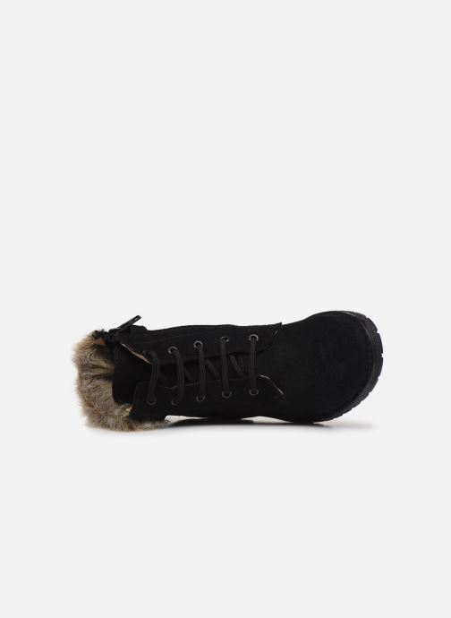 Bottines et boots Yep Pola Noir vue gauche