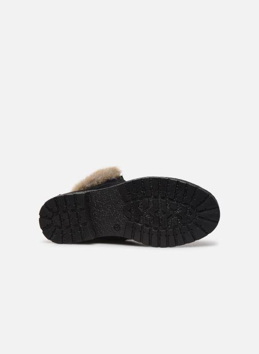 Bottines et boots Yep Pola Noir vue haut