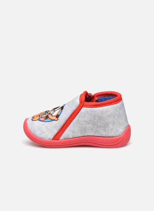 Chaussons Mickey Mouse Savon Gris vue face