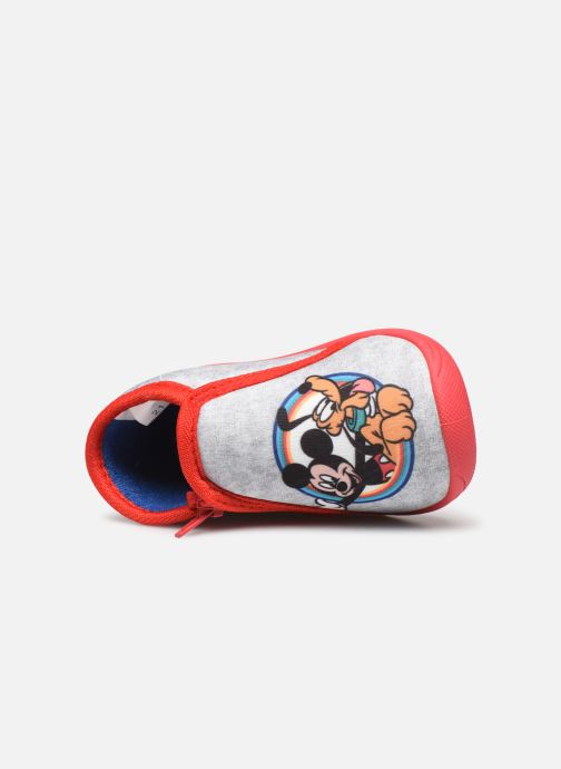 Chaussons Mickey Mouse Savon Gris vue gauche