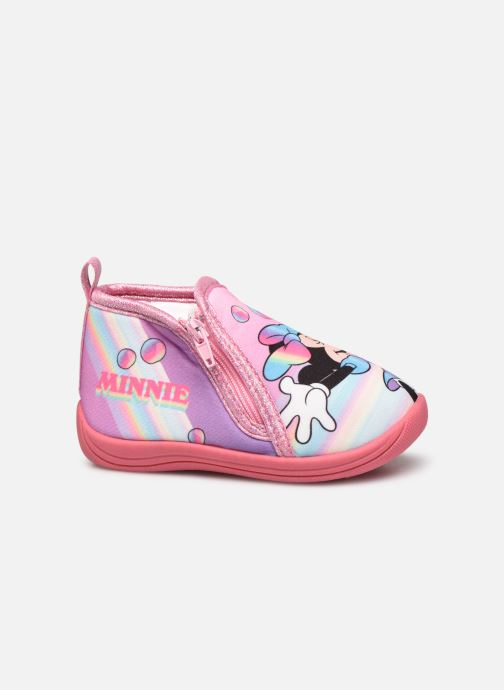 Chaussons Mickey Mouse Savon Rose vue derrière