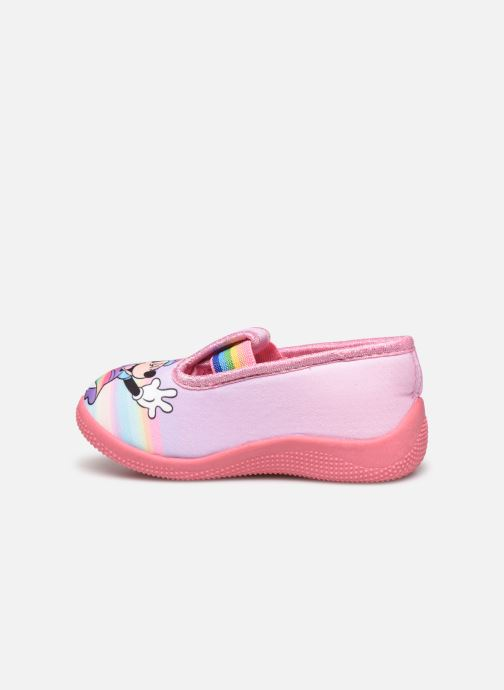 Chaussons Mickey Mouse Savigny Rose vue face