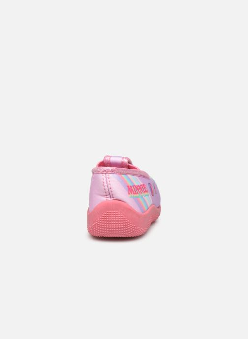 Chaussons Mickey Mouse Savigny Rose vue droite