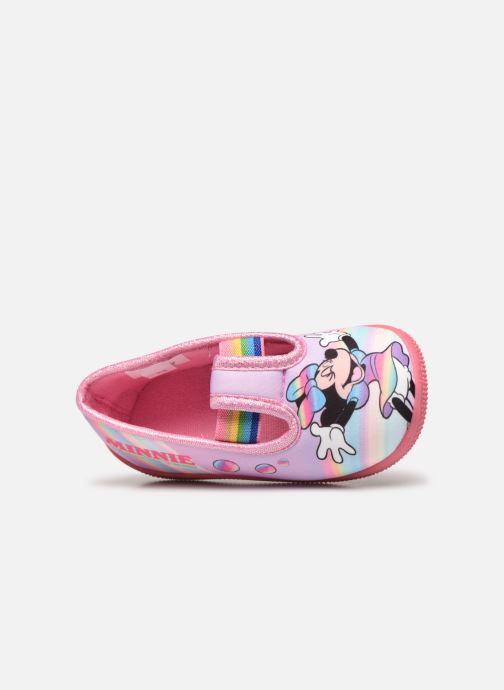 Pantofole Mickey Mouse Savigny Rosa immagine sinistra