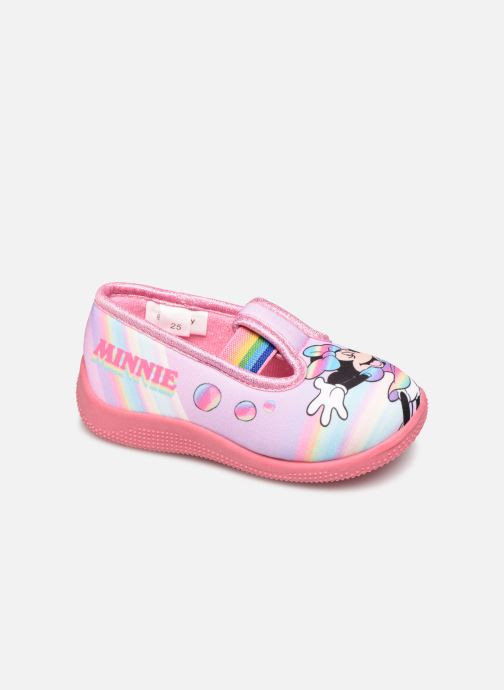 Chaussons Mickey Mouse Savigny Rose vue détail/paire