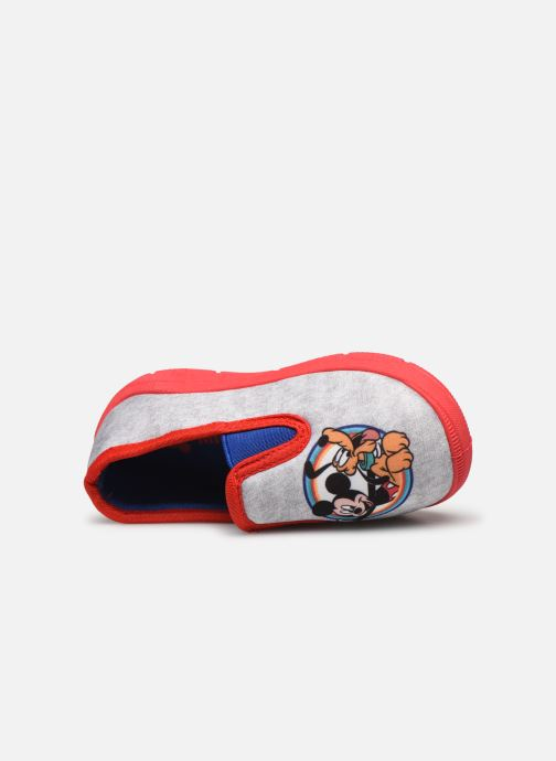 Chaussons Mickey Mouse Savigny Gris vue gauche
