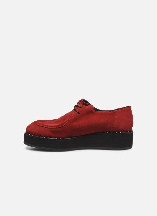 Chaussures à lacets Jonak 225-ARCO Rouge vue face