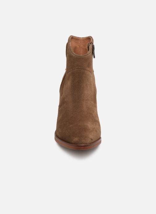 Bottines et boots Jonak 264-DECAPOLIS Marron vue portées chaussures