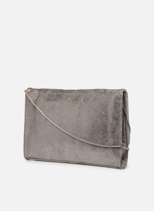 Handtaschen Jonak 403-SAMY silber ansicht von rechts