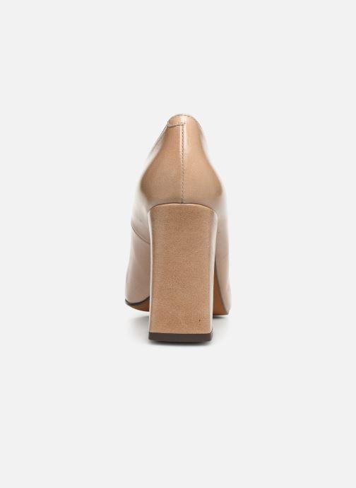 Zapatos de tacón Jonak 429-BALZAC Beige vista lateral derecha