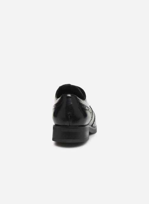 Scarpe con lacci Jonak 516-NATAL Nero immagine destra