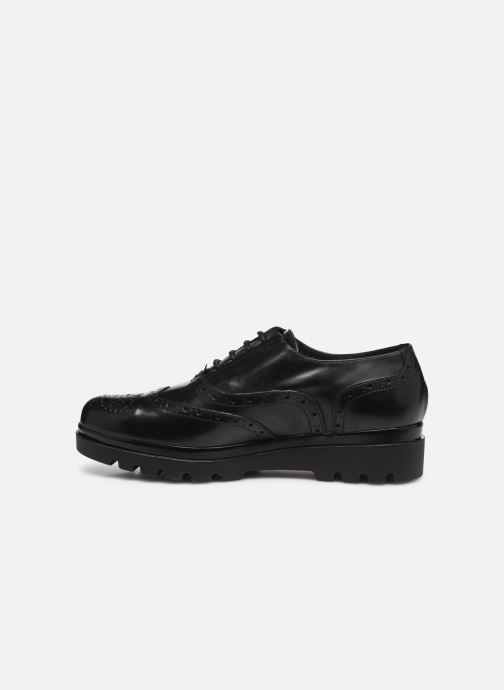 Zapatos con cordones Jonak 516-NEPAL Negro vista de frente