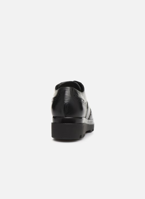 Zapatos con cordones Jonak 516-NEPAL Negro vista lateral derecha