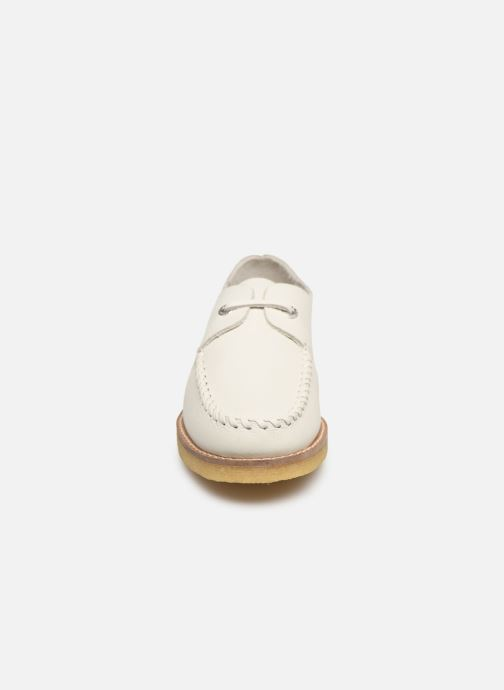 Chaussures à lacets Kickers MONYA Blanc vue portées chaussures