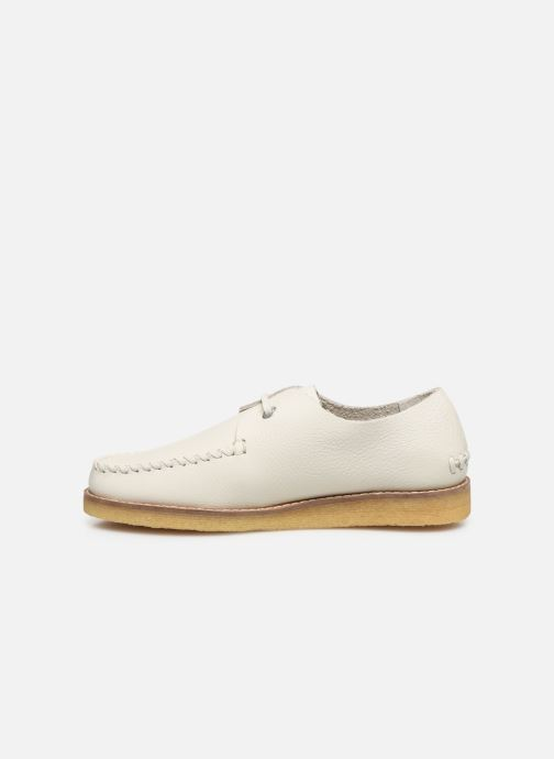 Chaussures à lacets Kickers MONYA Blanc vue face