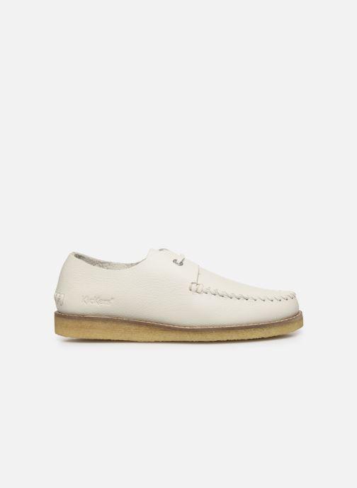 Chaussures à lacets Kickers MONYA Blanc vue derrière