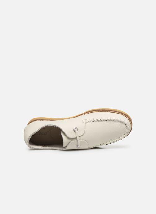 Chaussures à lacets Kickers MONYA Blanc vue gauche