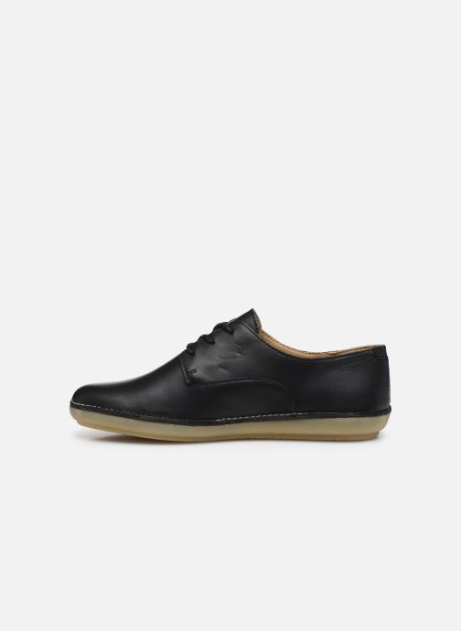 Chaussures à lacets Kickers FORTUNIA Noir vue face