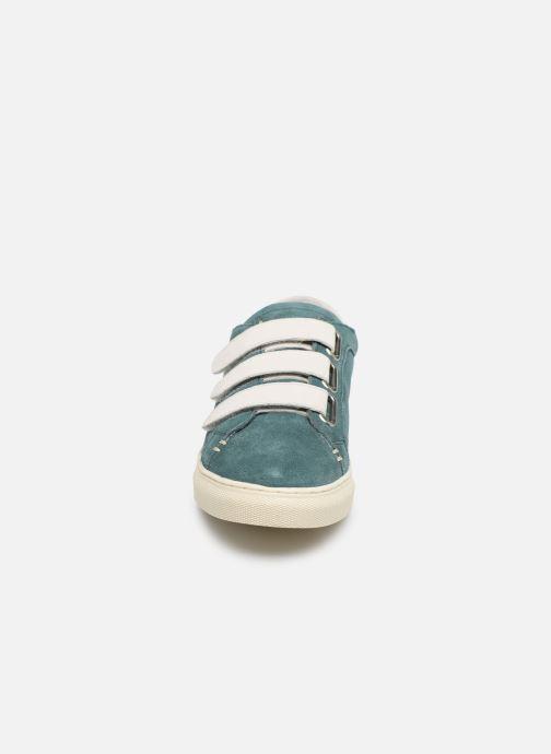Baskets Kickers SNIKVY Bleu vue portées chaussures